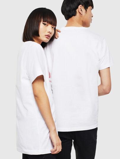 Diesel - CL-T-DIEGO-1, Weiß - T-Shirts - Image 3
