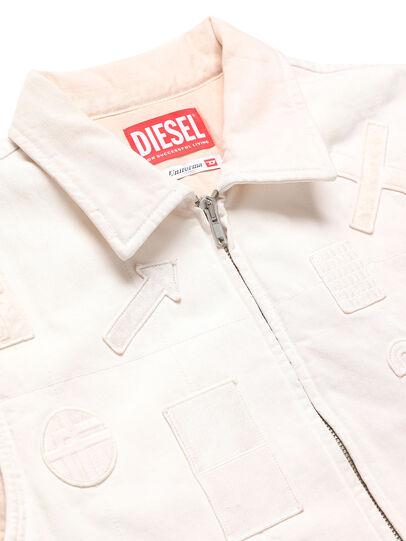 Diesel - GR02-J303, Weiß - Denim jacken - Image 3