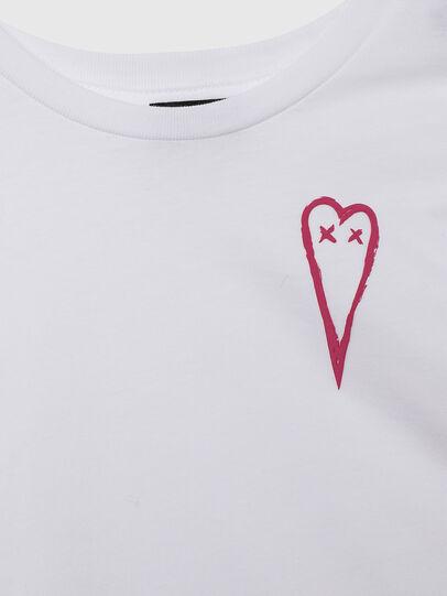 Diesel - TSILYHEARTS, Blanc - T-shirts et Hauts - Image 3