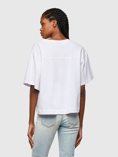 Diesel - T-BOWLESS-A1, Blanc - T-Shirts - Image 2