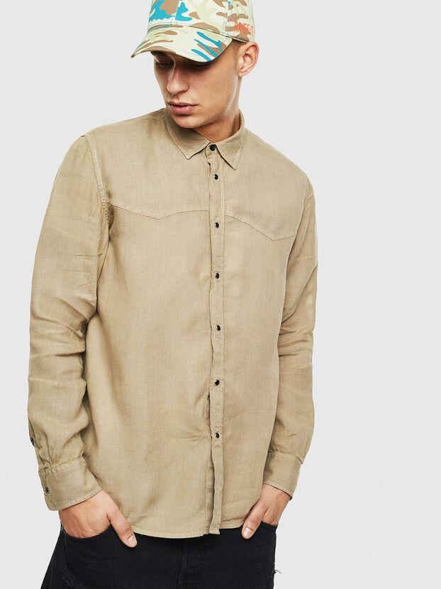 S-PLAN-B, Beige - Hemden
