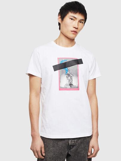 Diesel - T-DIEGO-S8, Weiß - T-Shirts - Image 1