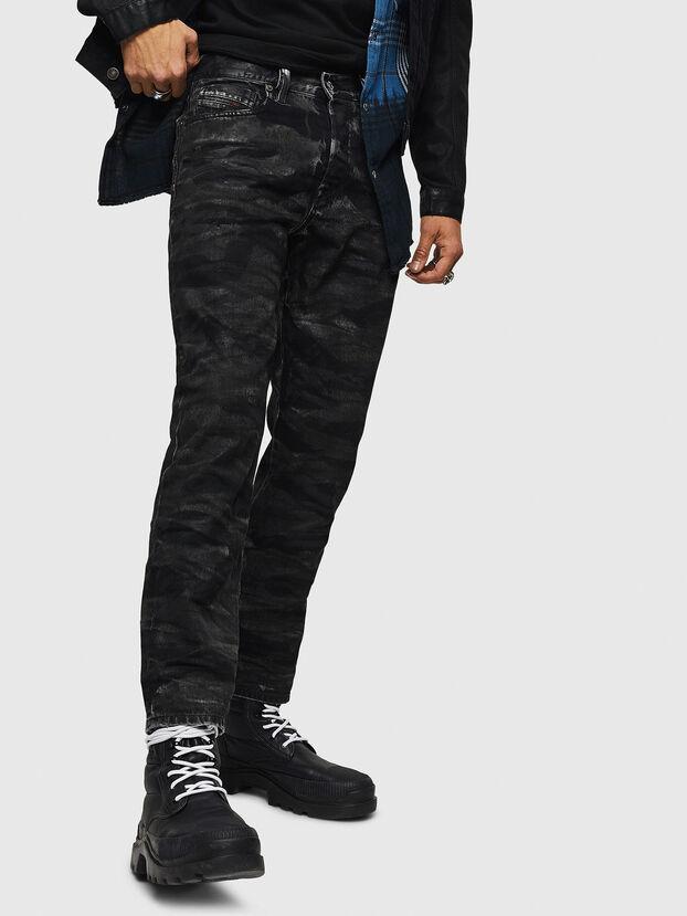 Mharky 083AH, Schwarz/Dunkelgrau - Jeans