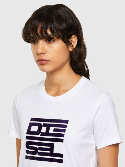 Diesel - T-SILY-K5, Weiß - T-Shirts - Image 3