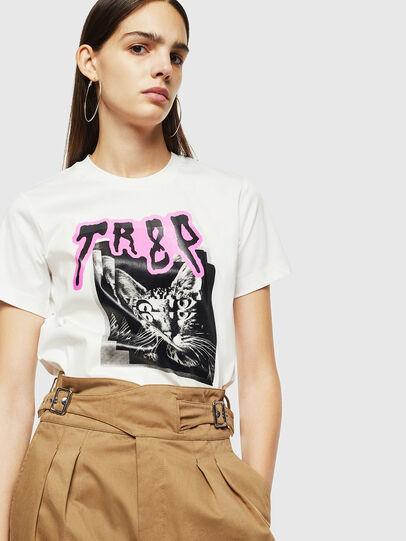 Diesel - T-SILY-YC, Weiß - T-Shirts - Image 4