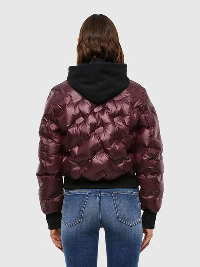 Diesel - W-AVALES, Plum - Winter Jackets - Image 2