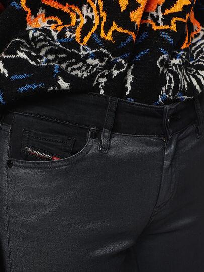 Diesel - Slandy Zip 069GF, Schwarz/Dunkelgrau - Jeans - Image 3