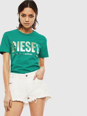 T-SILY-WX, Dunkelgrün - T-Shirts