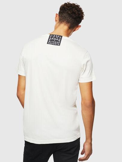 Diesel - T-DIEGO-J5, Weiß - T-Shirts - Image 3