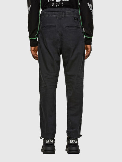 Diesel - D-Skint JoggJeans® 069PC, Schwarz/Dunkelgrau - Jeans - Image 2
