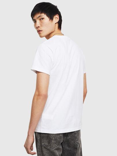 Diesel - T-DIEGO-S8, Weiß - T-Shirts - Image 2