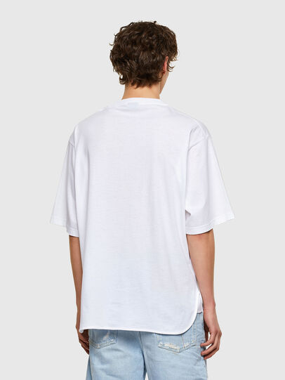Diesel - T-DELPHONE, Bianco - T-Shirts - Image 2