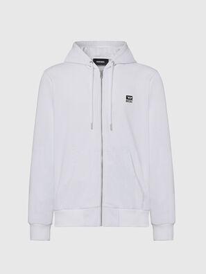 S-GIRK-HOOD-ZIP-K1, Weiß - Sweatshirts
