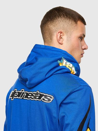 Diesel - ASTARS-T-JUSTOOD, Blau - T-Shirts - Image 3
