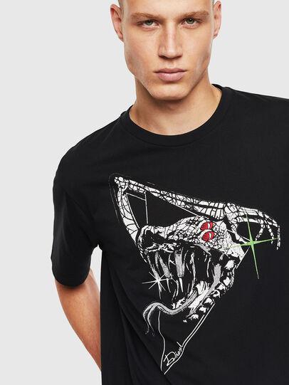 Diesel - T-JUST-J15, Schwarz - T-Shirts - Image 3