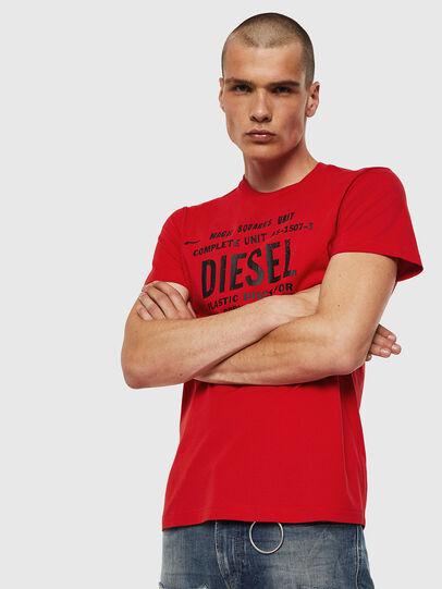 Diesel - T-DIEGO-B6, Feuerrot - T-Shirts - Image 1
