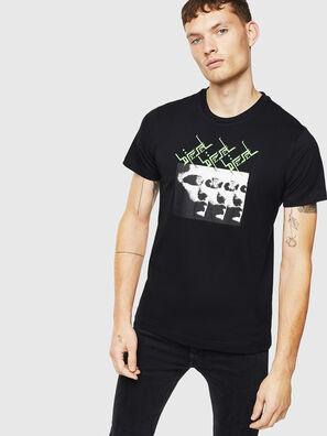 T-DIEGO-J12, Schwarz - T-Shirts