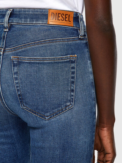 Diesel - Slandy 009ZW, Blu medio - Jeans - Image 3