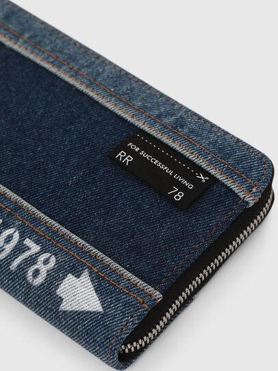 Diesel - GRANATO LC, Jeansblau - Portemonnaies Zip-Around - Image 4