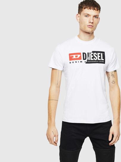 Diesel - T-DIEGO-CUTY, Weiß - T-Shirts - Image 1
