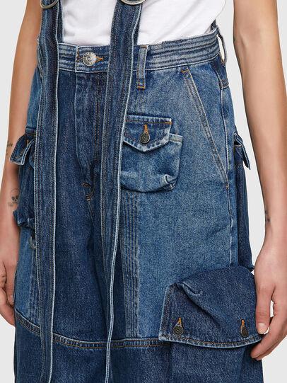 Diesel - DE-AMETHY, Medium blue - Pants - Image 4