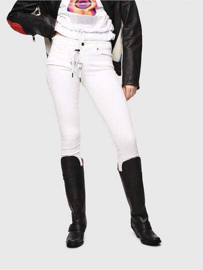 Diesel - Slandy 086AC, Weiß - Jeans - Image 1