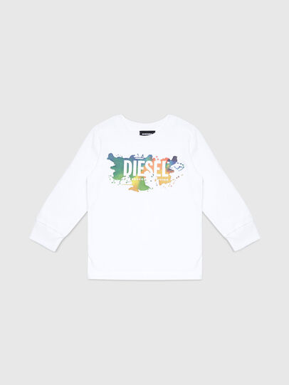 Diesel - TDOSKYB ML-R, Blanc - T-shirts et Hauts - Image 1