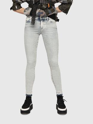 Slandy 086AF, Hellblau - Jeans