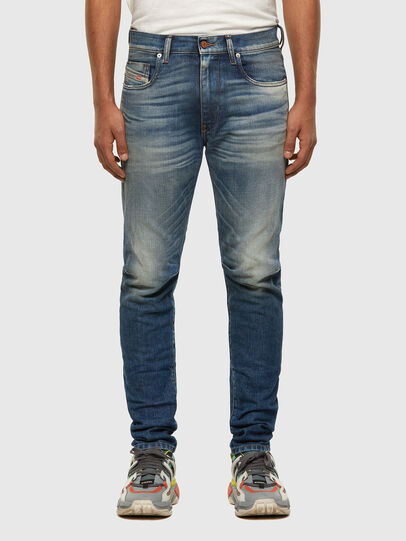 Diesel - D-Strukt 009HH, Mittelblau - Jeans - Image 1
