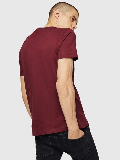 Diesel - T-DIEGO-B4, Bordeauxrot - T-Shirts - Image 2