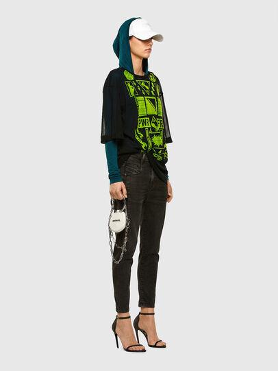 Diesel - Fayza JoggJeans 009HM, Schwarz/Dunkelgrau - Jeans - Image 6