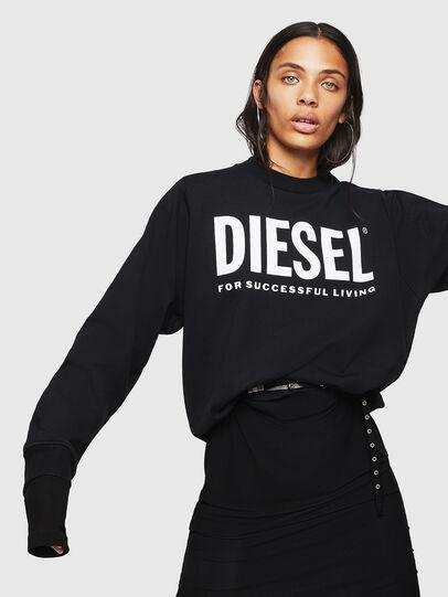 Diesel - F-ANG, Schwarz - Sweatshirts - Image 4