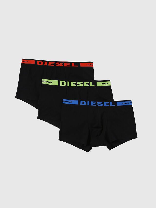 Diesel - UMBX-KORYTHREEPACK, Schwarz - Boxershorts - Image 1
