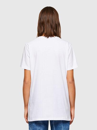 Diesel - T-DARIA-R2, Bianco - T-Shirts - Image 2