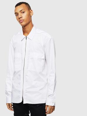 S-PATCH-P, Weiß - Hemden
