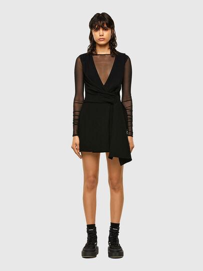Diesel - D-DEVI, Black - Dresses - Image 1