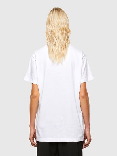 Diesel - T-DARIA-R1, Weiß - T-Shirts - Image 2