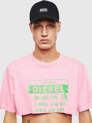 T-CROPPY, Rosa - T-Shirts