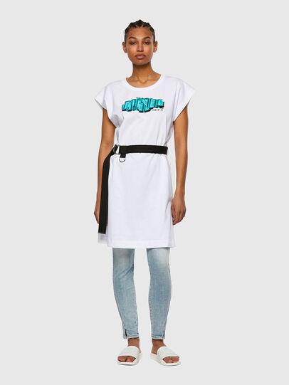 Diesel - D-EASIEL, Blanc - Robes - Image 1