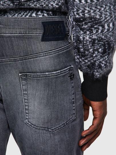 Diesel - D-Strukt JoggJeans® 009QT, Schwarz/Dunkelgrau - Jeans - Image 3
