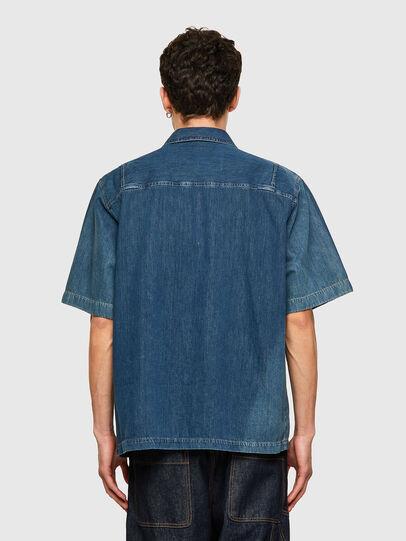 Diesel - D-GUNN-SP, Bleu moyen - Chemises en Denim - Image 2
