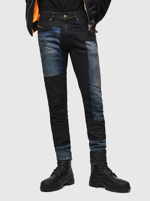 D-Strukt 0094K, Dunkelblau - Jeans