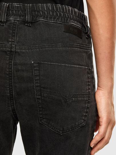 Diesel - Krailey JoggJeans 009FY, Schwarz/Dunkelgrau - Jeans - Image 4