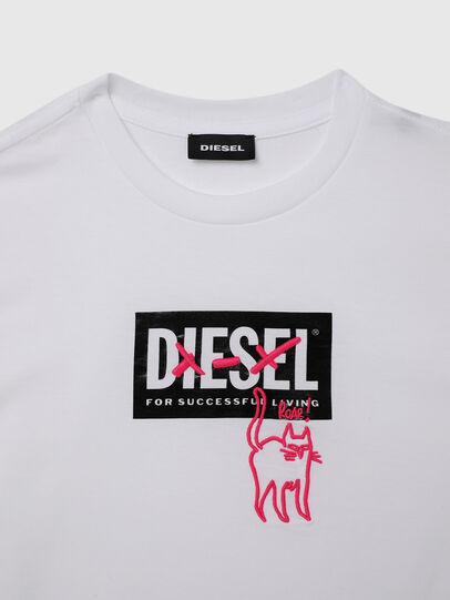 Diesel - TUDARICAT, Bianco - T-shirts e Tops - Image 3