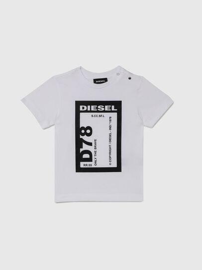 Diesel - TFULL78B, Blanc - T-shirts et Hauts - Image 1