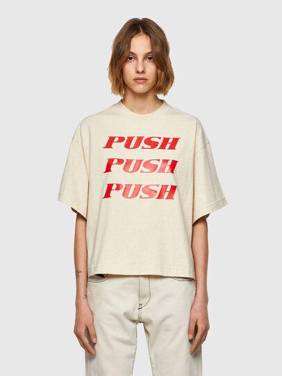 Diesel - T-BOWXY, Blanc - T-Shirts - Image 1