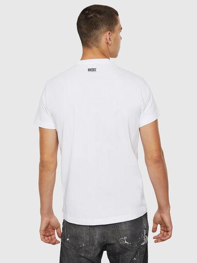 Diesel - T-DIEGO-B12, Weiß - T-Shirts - Image 2