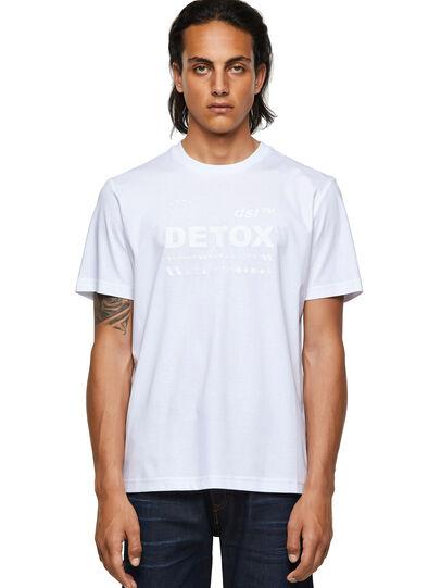 Diesel - T-JUST-B63, Weiß - T-Shirts - Image 1