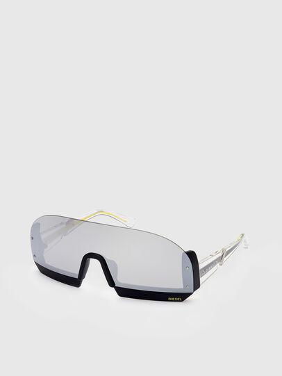 Diesel - DL0336, Weiß - Sonnenbrille - Image 2
