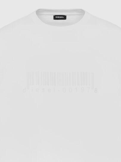 Diesel - T-JUST-SLITS-X87, Weiß - T-Shirts - Image 3